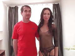 Cuckold husband who always finds men to fuck movies at freekilomovies.com