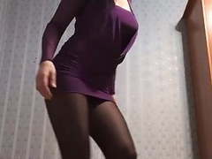 Pantyhose dance videos