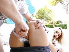 Horny blonde bitch movies at find-best-babes.com