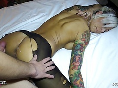 German client condom off and cum on pussy by german hooker movies at kilogirls.com