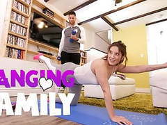Banging family - seducing my step-bro at yoga class movies at find-best-videos.com