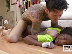 Sexy young ebony teen tori montana gets fucked dirty movies at freekiloclips.com