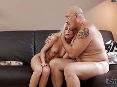 Daddy4k. fat old dad gets a chance of making love to sons gf movies at nastyadult.info