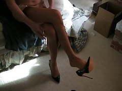 Spice rht, new garter, black pumps movies at freekiloporn.com