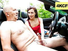 Grandpa, can i get a free ride? - cfnm movies at kilovideos.com