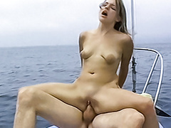 Cute blonde amateur sucks and fucks on a sailboat movies