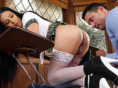 Genderx - trans schoolgirl chanel santini fucks her teacher movies at freekilosex.com