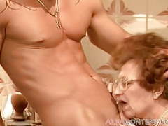 Old granny loves getting some young dick movies at kilogirls.com