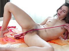 Little ira verber has fun in bed with toys movies at kilogirls.com