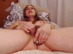 Milf with plug in bushy pussy receives a convulsing orgasm videos