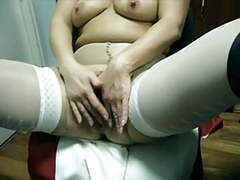 Granny shows her bush via cam movies at kilogirls.com