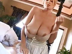 Mum wakes me up with her huge boobs videos