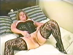 90s bbw shay thomas gets off movies at find-best-lingerie.com