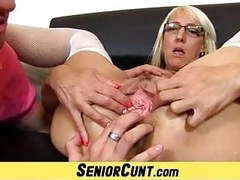 Blonde euro milf marketa fleshy pussy wide open videos
