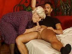 Grandma in stockings cum splattered glasse movies at find-best-lingerie.com