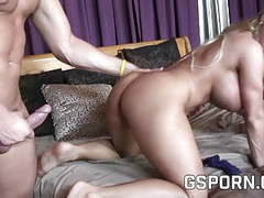 Busty milf doesn't stop fucking big dicks movies