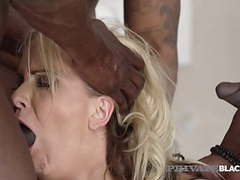 Privateblack - german cougar julia pink ass packed by 3 bbcs videos
