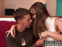 Horny and sexy college studnets fuck in the student room videos