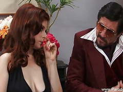 Sweet redhead milf face fucked with facial movies at kilogirls.com