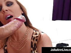 Dick licking milf julia ann milks cock in her ... movies at find-best-ass.com