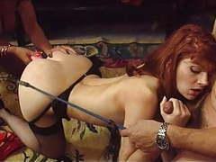 Classic threesome with lisa&fovea movies at freekilosex.com