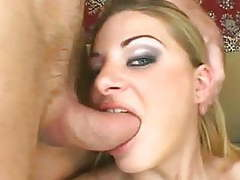 Stepsis, anal, double penetration, threesome, blonde, small videos