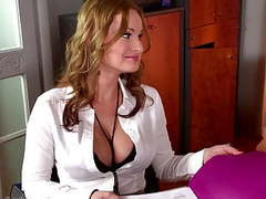 Threesome with sexy secretaries laura orsolya and abbie cat movies at kilomatures.com
