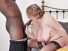 Mature busty mother tries big black cock videos
