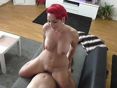 Horny redhead escort fucking movies at freekilosex.com
