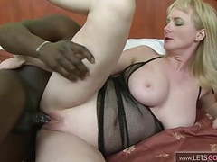 Mature slut takes bbc in her ass videos