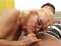 Four eyed granny videos