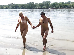 Stepson fucks mom on public beach videos
