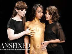 Adult time transfixed : adriana, natalie, and khloe 3some videos