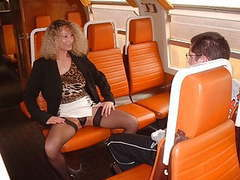 Mom and virgin boy in train movies at freekilosex.com