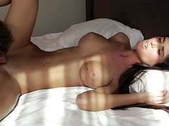 Skinny brunette big tits fuck videos
