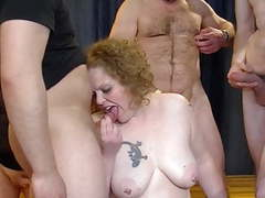 Gangbang with chubby mature mom movies at find-best-ass.com