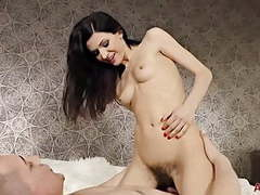 Gorgeous hairy efina movies at kilogirls.com