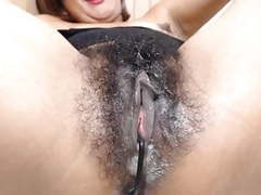 Creamy hairy movies at kilogirls.com