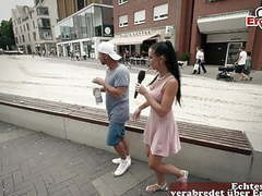 German skinny milf picks up guy on street at casting movies at find-best-mature.com