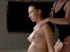 Pregnant slow & slippery massage movies at find-best-videos.com