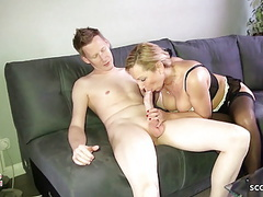 Monster cock step son seduce german milf mom to fuck movies at find-best-mature.com