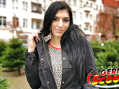 German scout - cute teen kristall fuck at pickup casting videos