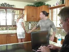 Blonde milf gets seduced by a horny young stud movies at find-best-mature.com