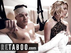 Pure taboo stepmom helped injured son pleasure himself videos