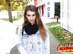 German scout - skinny girl fuck to eye roll at pickup cast movies at find-best-lingerie.com
