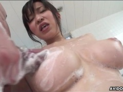 Perfect big titties on japanese girl in bathroom movies at sgirls.net