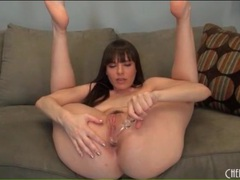 Dana dearmond ass fucks glass dildo movies at lingerie-mania.com