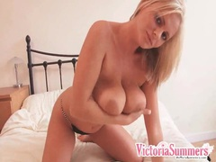 Victoria summers strips fully and shows her pussy movies at sgirls.net