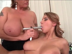 Big titty women play with speculum videos