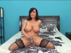 Busty lisa ann pleasures pussy with a toy movies at sgirls.net